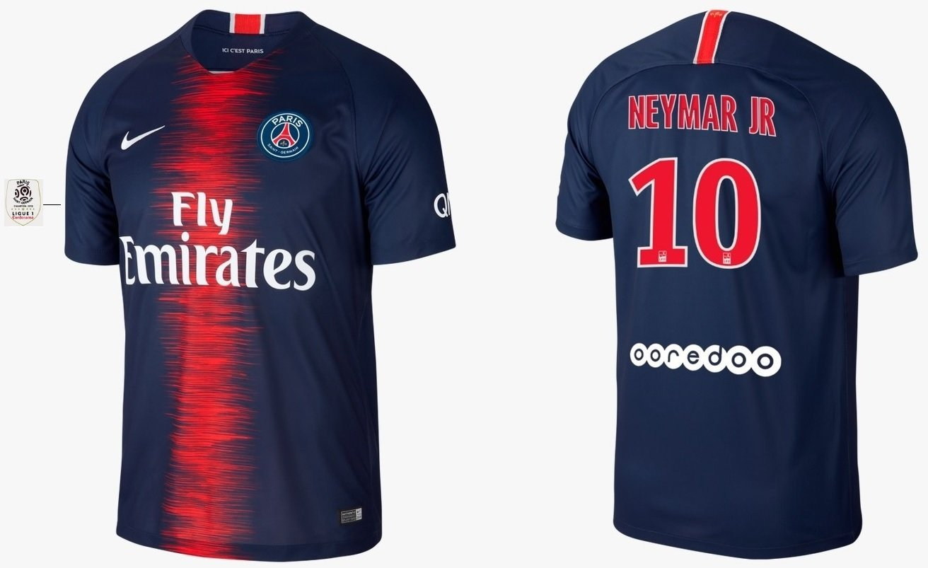 Trikot Kinder Paris Saint-Germain 2018-2019 Home L1 - Neymar Jr 10