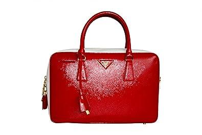 Prada Women s BL0095 Red Saffiano Leather Evening Purse  Handbags ...