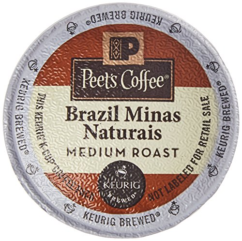 Peet's Coffee Brazil Minas Naturais medium roast 32ct K-Cup Packs