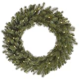 Vickerman 456163 - 48'' Colorado Spruce 200 Clear Miniature Lights Christmas Wreath (A164348)