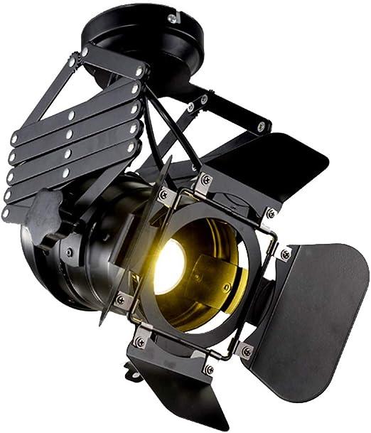 MITOYO LIGHT Vintage Techo Proyector Luminaria E27 Luz Industrial ...