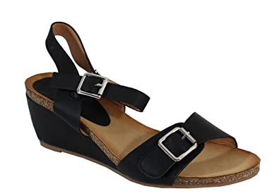 By Sandale Femme Style Shoes Compensée Confort MSpzVU