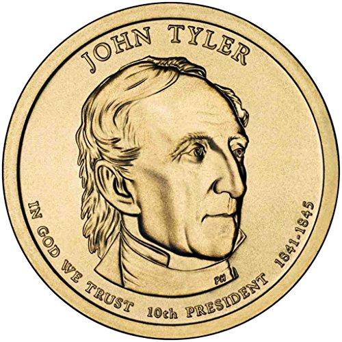 2009 D Tyler Presidential Dollar Choice Uncirculated