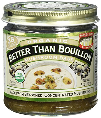 Better Than Mushroom Base Bouillon, 8 Ounce - 6 per case.