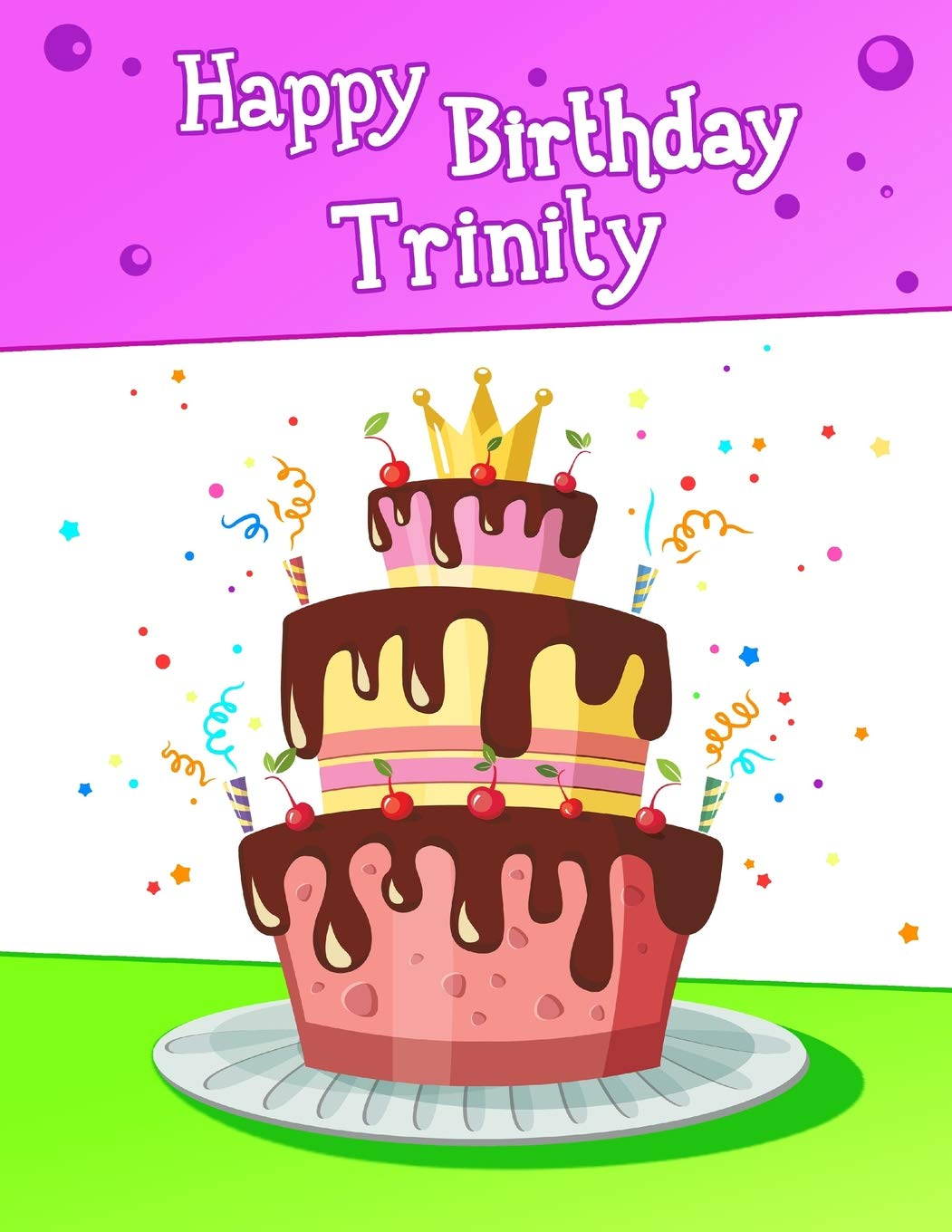 Surprising Happy Birthday Trinity Big Personalized Book With Name Cute Funny Birthday Cards Online Eattedamsfinfo
