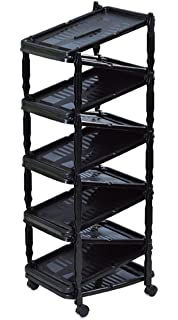 sana enterprises a shoe rackorganizer go vertical save space foldable on wheels - Vertical Shoe Rack