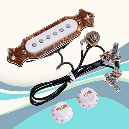 YGQersh - Arnés para caja de resonancia para guitarra con bobina ...