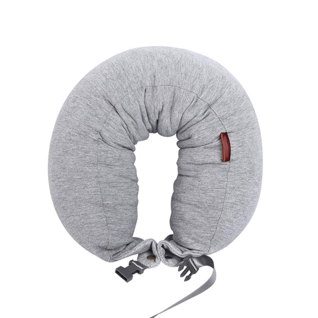 ZSQAW Comfort Master Travel Pillow; Provides Optimum Relief and Support for Travel, Home, Office, Neck Pain, and Many More; Get Wrapped in Extreme Comfort with a Firm Memory Foam Neck Pillow