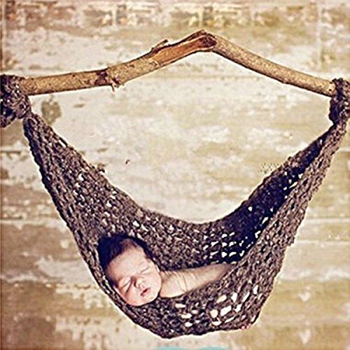 Costume Tutorial Mermaid (DATON Newborn Baby Hammock Props , Baby Costume Photography props Knit Crochet Photo Props for 0-12 month baby)