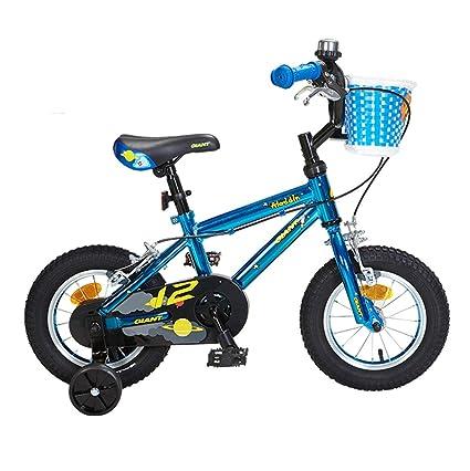 Creing Bicicleta para Niños 12 Inch con Rueda de Entrenamiento Bici Marco de aleación de Aluminio