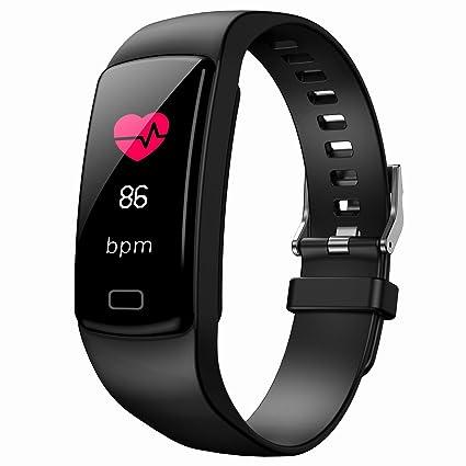 Amazon.com : Heart Rate Monitor Smartwatch, Waterproof ...