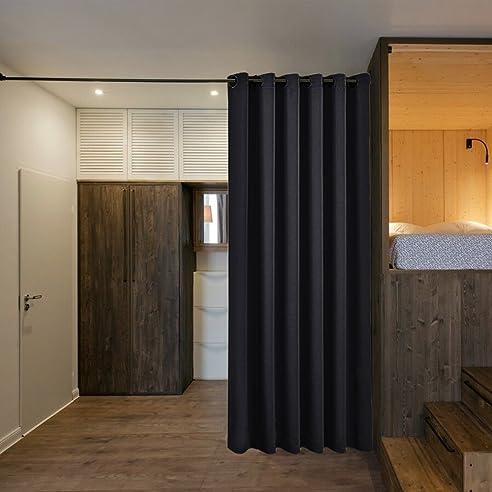 Amazon.De: Schlafzimmer Raumteiler Verdunklungsvorhänge Mit Ösen