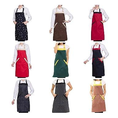 Apron,Longay - Delantal para cocinar en el hogar, cocina ...