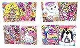 Lisa Frank Portfolio Pocket Folder Set of 4