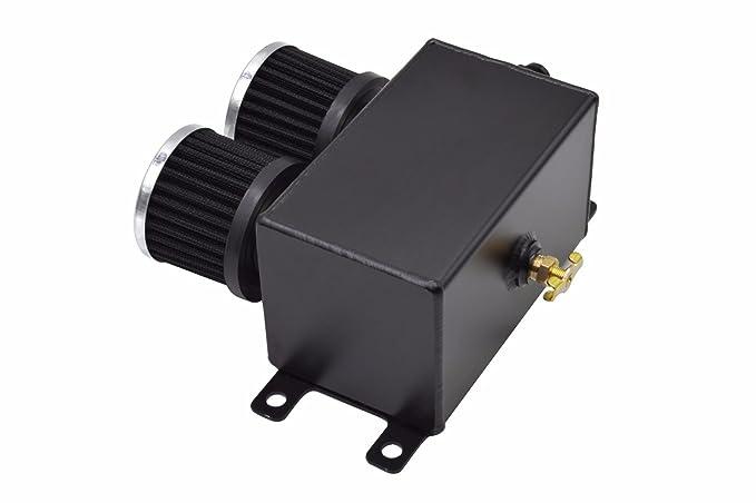 Amazon.com: Tanque de aceite de motor de doble filtro AN8 de ...