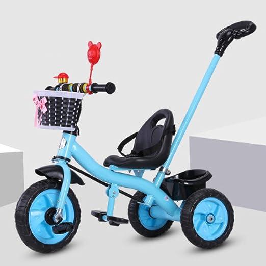 QXMEI Triciclo De Niños Bicicleta 1-3-2-6 Años De Edad Carretilla ...