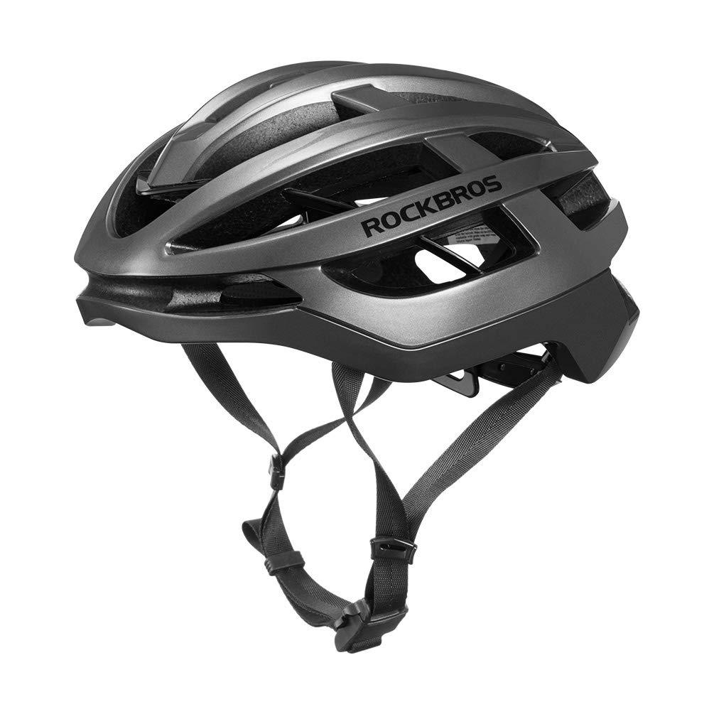 ROCK BROS Bike Helmet Lightweight Adult Bike Helmets for Men Women CE CPSC Safety Standard Bicycle Cycling Helmet Mountain Road