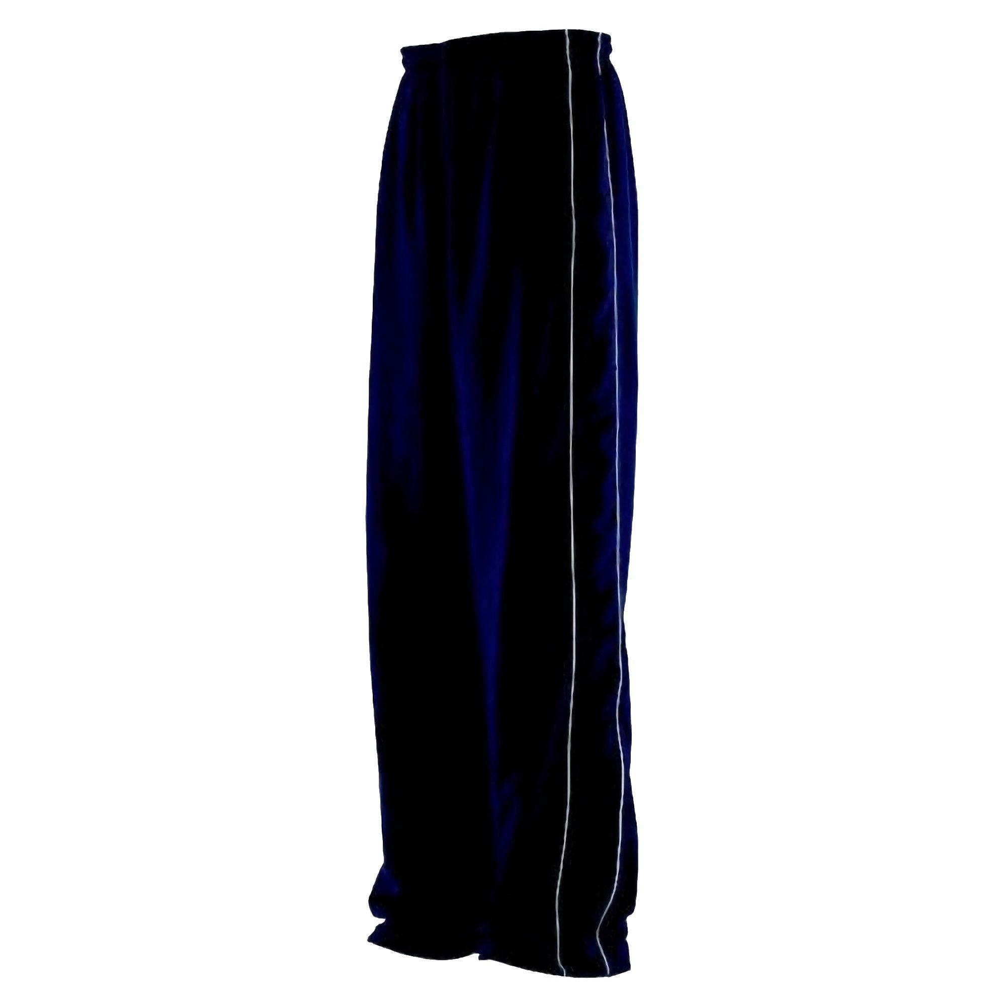Finden & Hales Kids Big Boys Contrast Sports Track Pants/Tracksuit Bottoms (Pack of 2) (13-14) (Navy/Navy/White)