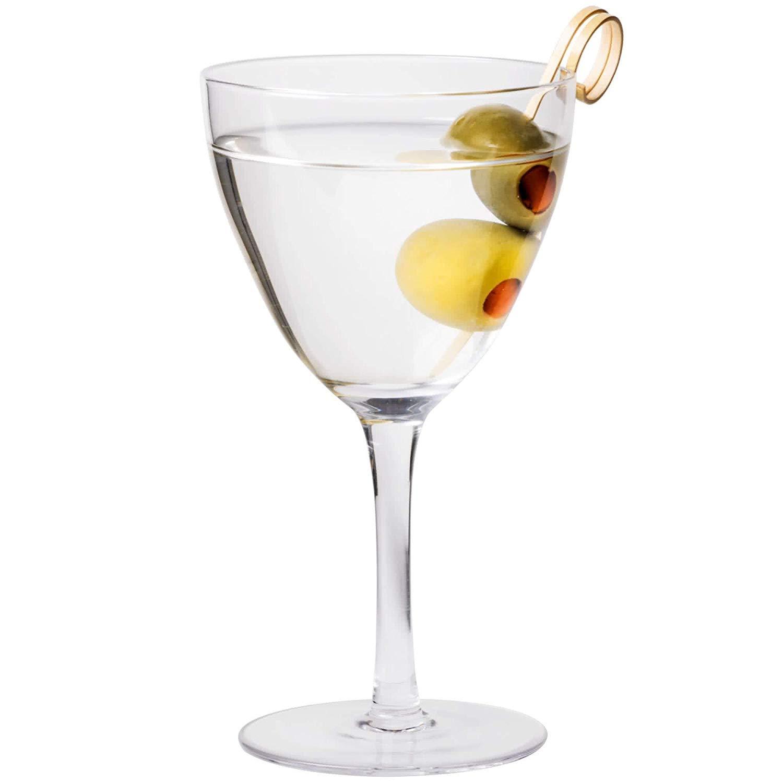 Core 6 oz. Nick and Nora Vintage Martini Glass - 6/Box