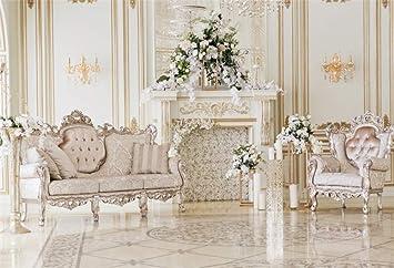 Palace - Sillones de Chimenea con diseño de Flores y Fondo ...