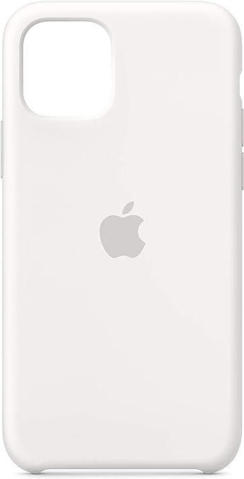 Image ofApple Funda Silicone Case (para el iPhone 11 Pro) - en Blanco