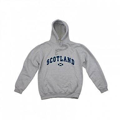 Scotland Sudadera con Capucha diseño Hombre/Caballero (XXL, Pecho 127-132cm)