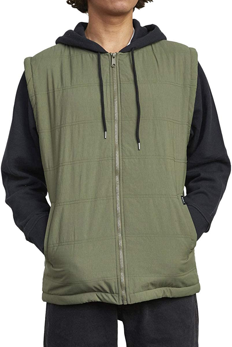 RVCA Logan Puffer II Jacket Sequoia Green