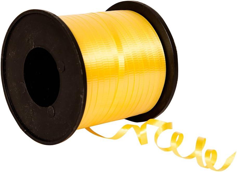 B0016KXBZY Unique Industries, Curling Ribbon, 500 Yard - Yellow 616ZoeIEGpL