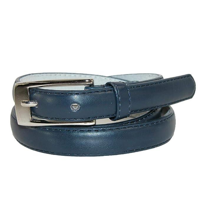 Amazon.com: CTM - Cinturón de piel para vestido de mujer (3 ...