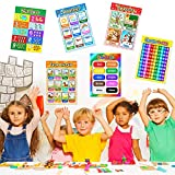 Educational Preschool Poster for Toddlers and Kids