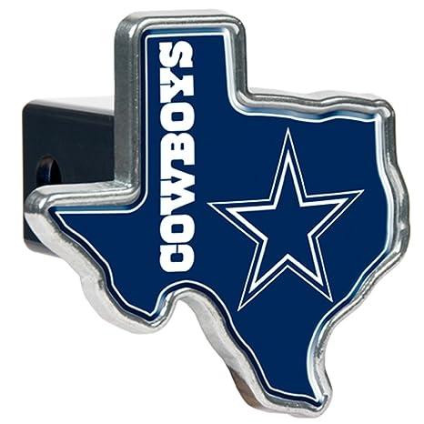 51b0613d804 Amazon.com   NFL Dallas Cowboys Texas Shaped Trailer Hitch Cover ...