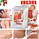Dry Skin Peel Baby Foot Peel Mask - LuckyFine Wolfberry Repairing Feet Mask, Deep Exfoliation for Dry Dead Skin, Dry Skin Foot Treatment,Make Your Feet Irresistible (2 Pairs per Box)