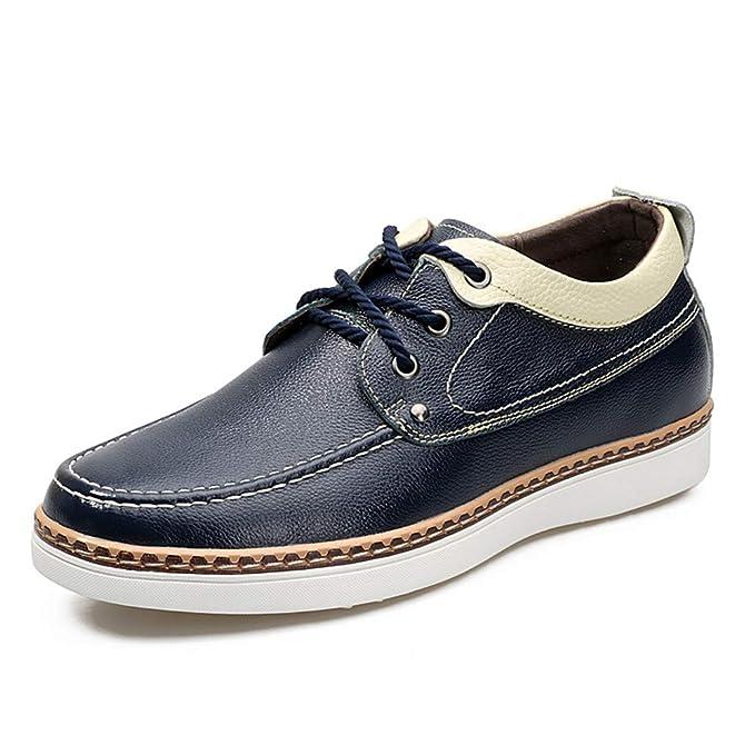 Easy Go Shopping Mocasines Casuales para Hombres Zapatos de Ascensor más Altos de 2