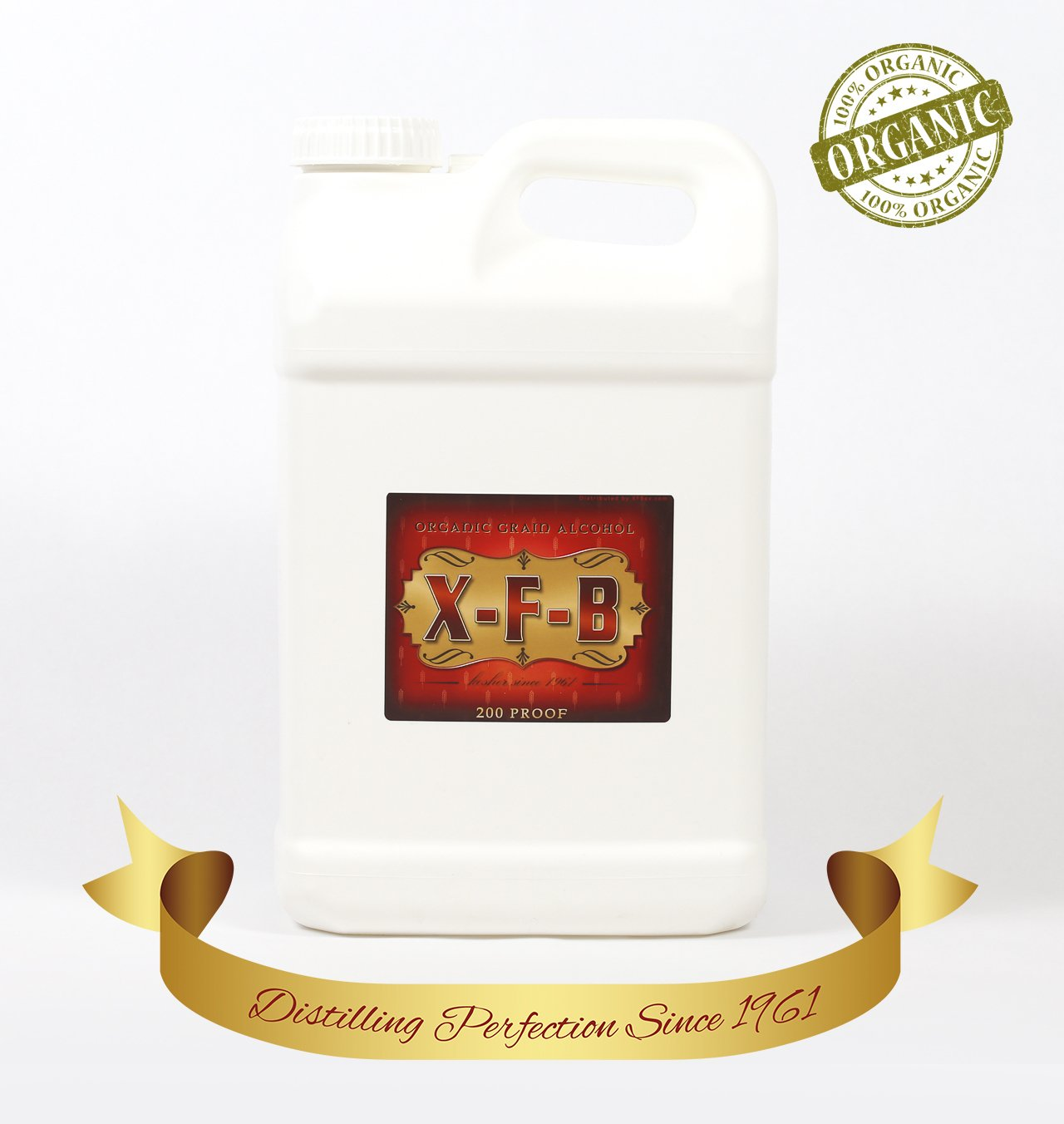 2.5 Gallon 200 Proof EOX by X-F-B Proof EOX from X-F-B Always Pure - Never DENATURED - PHARMA Grade & 100% Organic. JUST Ask Anyone They'll Tell You IT'S The PUREST - Plus Free 8 OZ Bonus Bottle