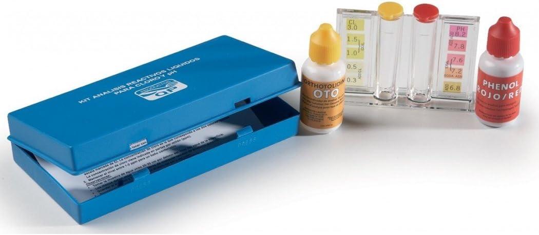 Quimicamp Kit pH y OTO analisis/medicion de piscina - 209080