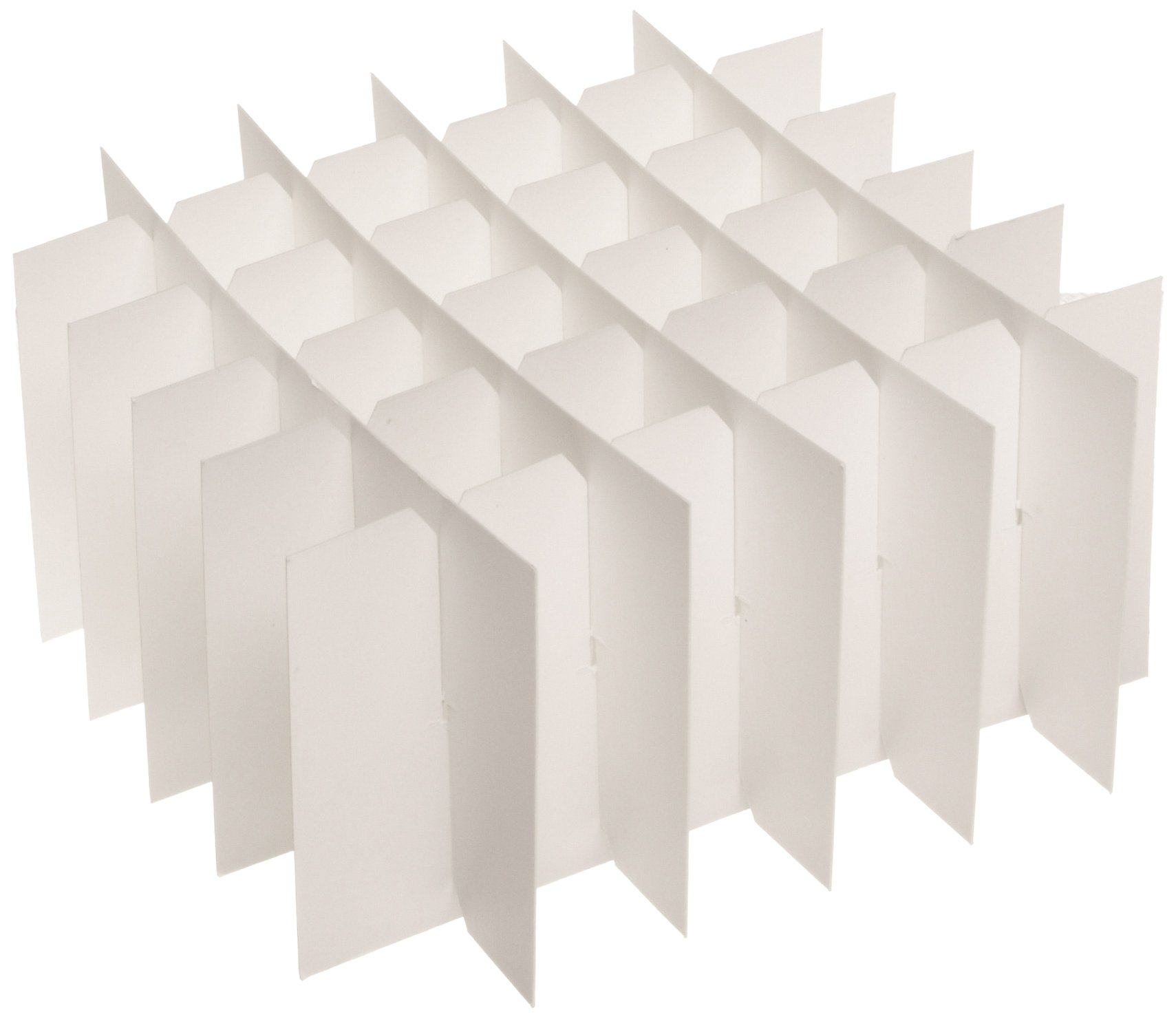 Heathrow Scientific HD2860T Cardboard Cryogenic 36 Cell Partition for 15mL Tubes (Pack of 10)