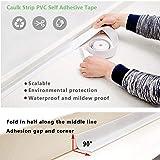 Caulk Strip Bathroom Caulking Tape Waterproof