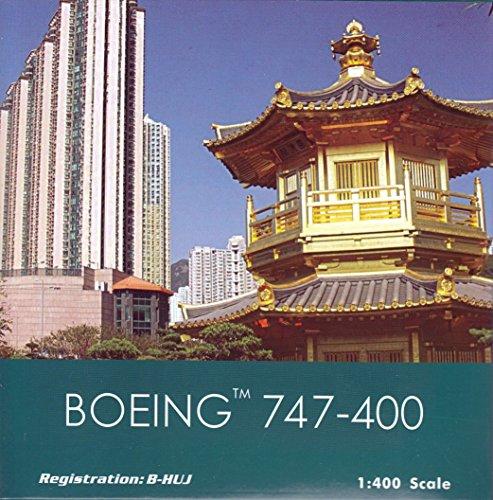 PHX1557 1:400 Phoenix Model Cathay Pacific Boeing 747-400 REG #B-HUJ (pre-painted/pre-built)