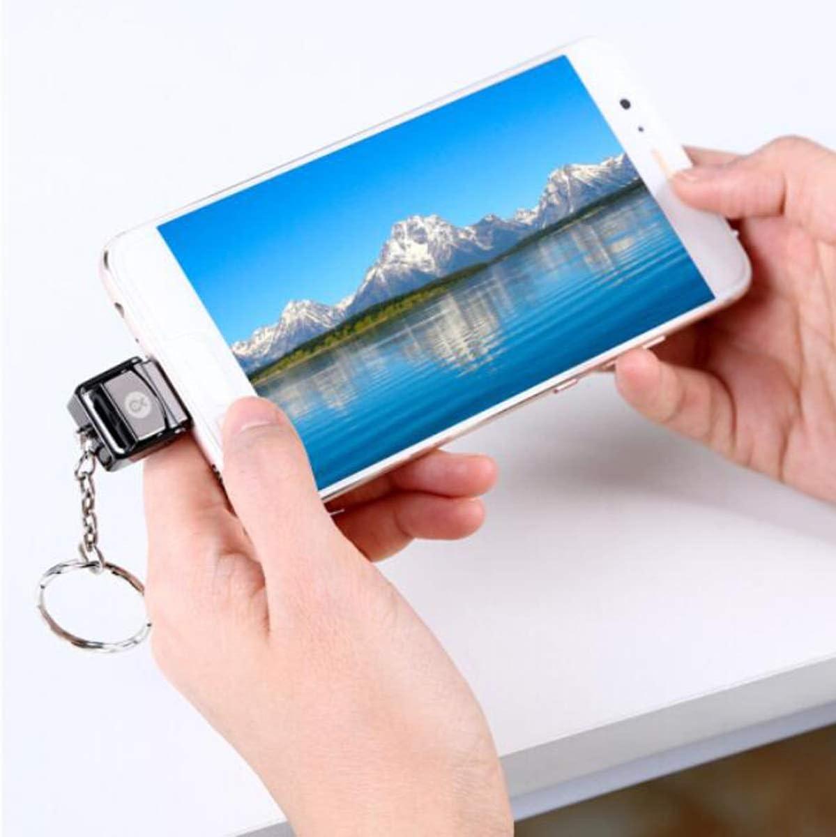 Color : Black Type-C Card Reader Gray Yougou01 Card Reader TF Card