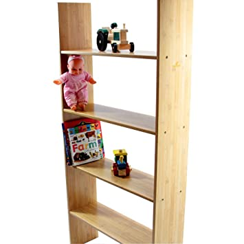 Bunk Bed Clip On Shelf 4 Tiers Kids Bedroom Furniture Solid Wood