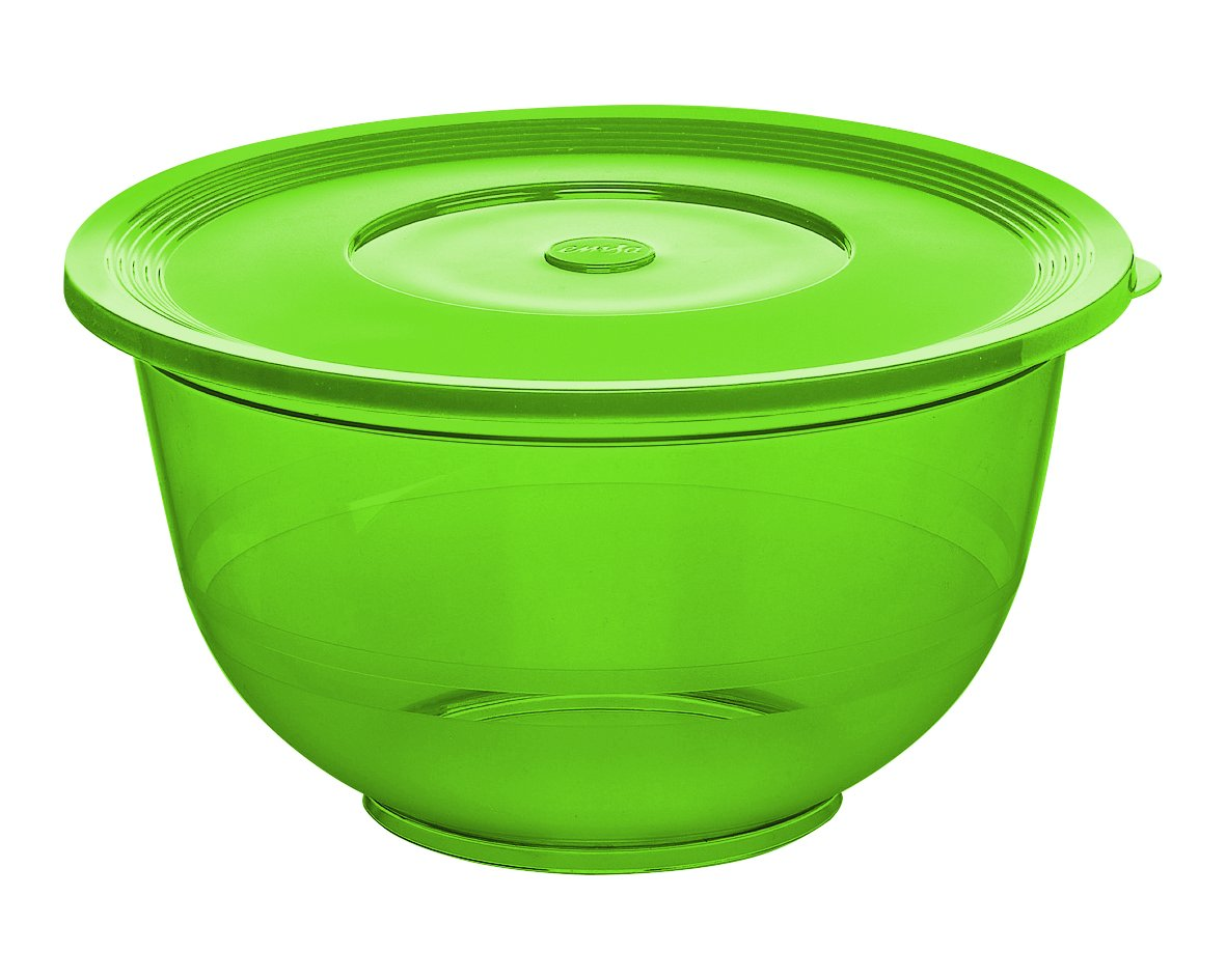 2L Emsa 514562 SUPERLINE Saladier avec couvercle en plastique vert