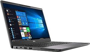 """Dell Latitude 13 7300 Core i5-8265U 16GB 256GB 13.3"""" FHD IR W10 PRO Carbon Fiber (Certified Refurbished)"""
