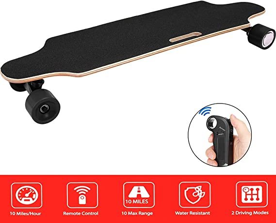 Aceshin Electric Skateboard Longboard with Remote Small for Kids Teens