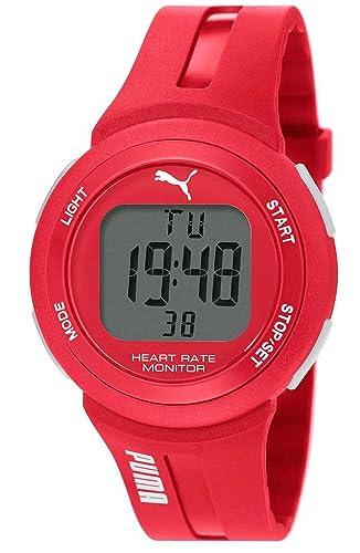 Puma reloj infantil con mecanismo de oxímetro y pantalla digital: Amazon.es: Relojes