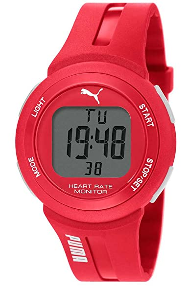 puma pulse plus unisex digital watch