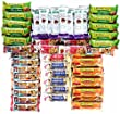 Healthy and Delicious Snack Bar Gift or Care Package- Sweet & Salty 50 Granola Bars- Kashi, Special K, Quaker, and Nature Valley
