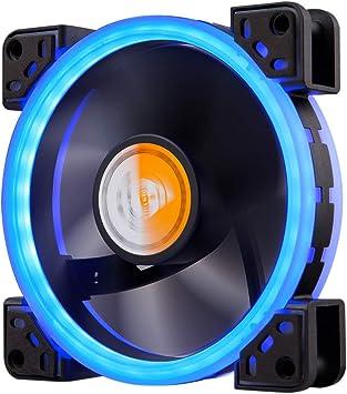 GOLDEN FIELD - Ventilador LED de 120 mm con rodamiento Ultra ...