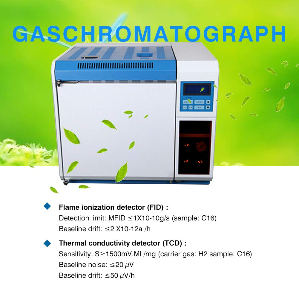 Wellish GC102A High-Sensitive Scientific GC Supplies Independent Temperature Control Gas Chromatograph Instrument: Amazon.com: Industrial & Scientific