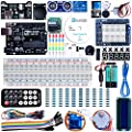 Elegoo UNO Project Super Starter Kit with Tutorial, 5V Relay, UNO R3, Power Supply Module, Servo Motor, 9V Battery with DC, Prototype Expansion Board, ect. for Arduino by Elegoo