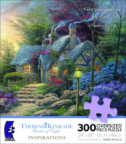 Ceaco Thomas Kinkade Inspirations-Seaside Hideaway